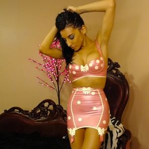 Westward Bound Intimates & Sleepwear - Latex Girdle Skirt Cirque Sucre